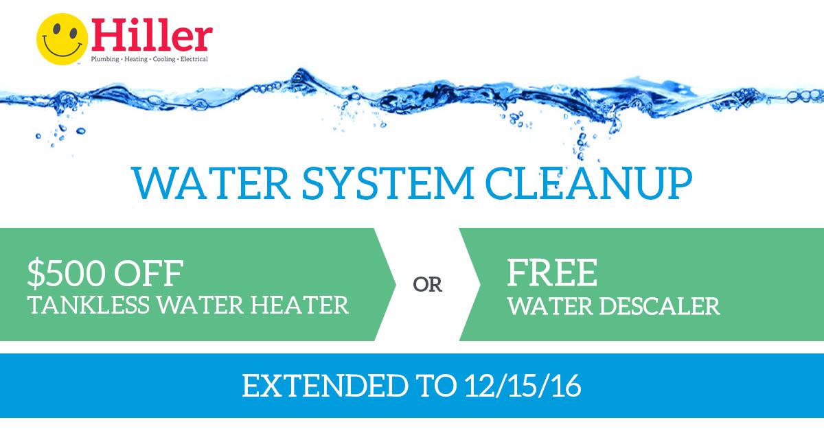 Water System Discount Deal - Hiller Plumbing