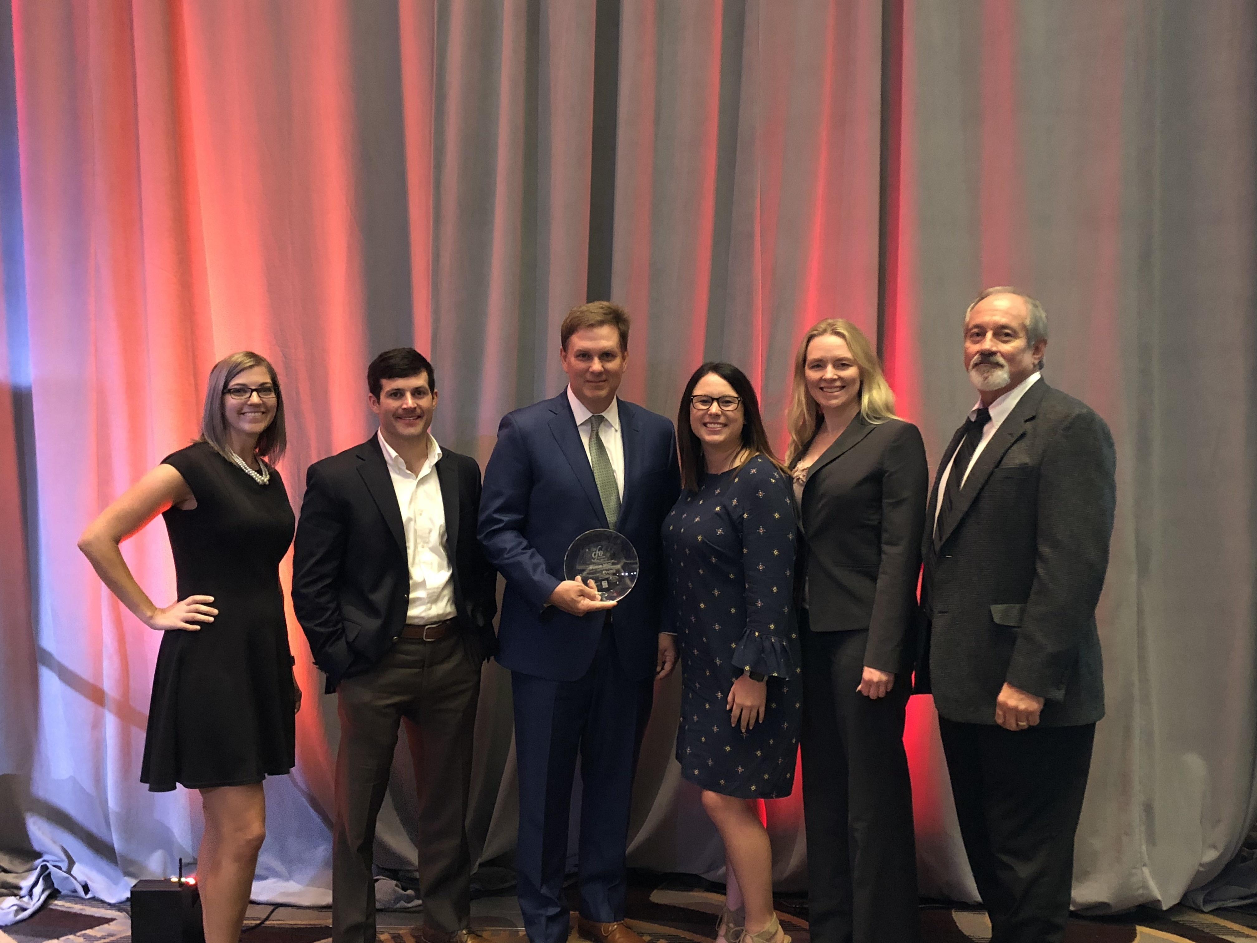 Phillip Mize Honored With Nashville Business Journal S 2018 Cfo Award