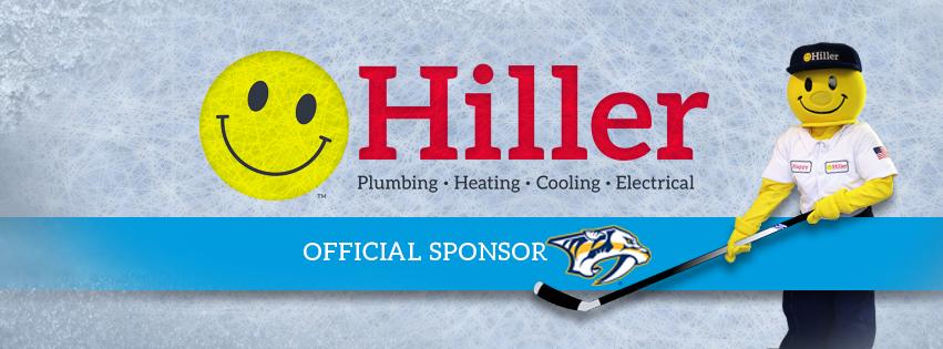 Hiller Announces Partnership With The Nashville Predators Happy