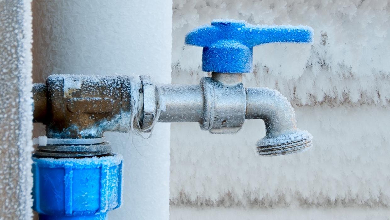 frozen spigot emergency